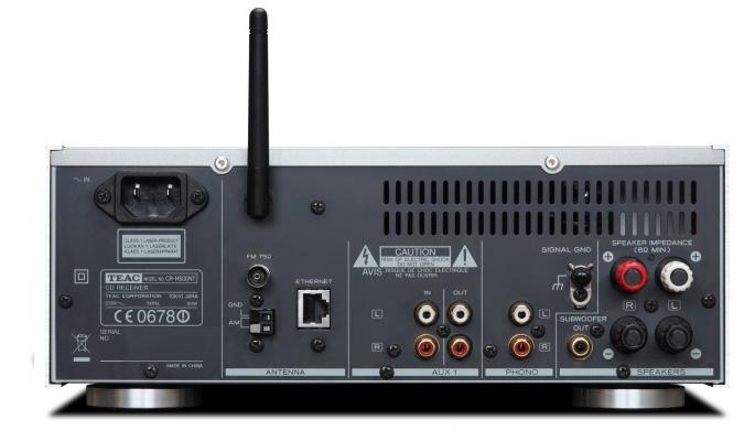 CR-H500 back