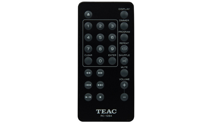 TEAC PD-H01 daljinski