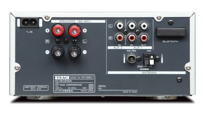 TEAC CR-H260i straga