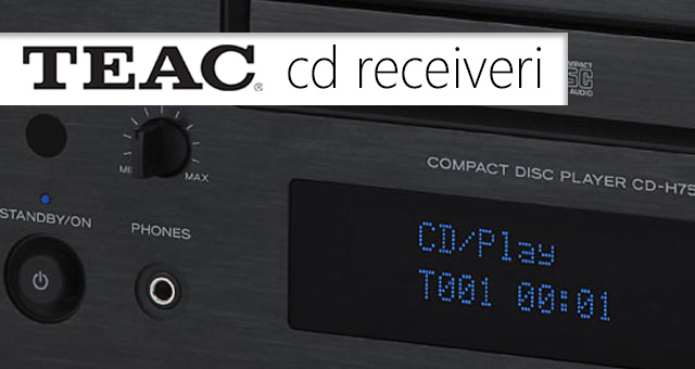 TEAC CD receiveri
