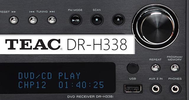 DVD receiver TEAC DR-H338