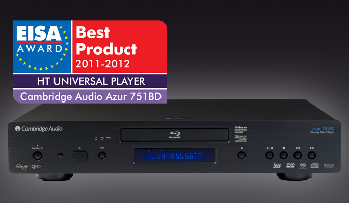 Cambridge Audio Azur 751BD EISA nagrada