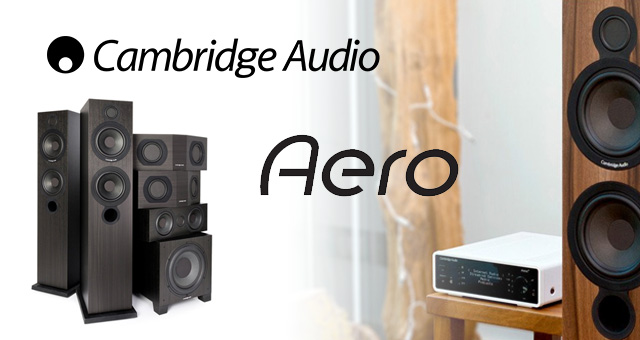 Zvučnički sustav Cambridge Audio Aero