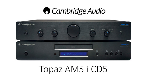 Cambridge Audio Topaz AM5 integrirano pojačalo/CD player Topaz CD5