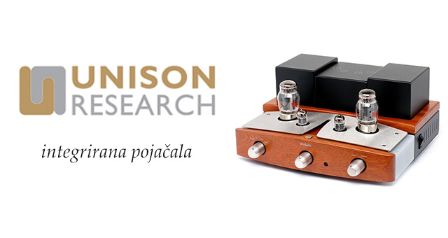 Unison Research integrirana pojačala
