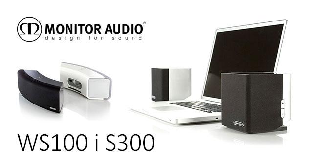 Monitor Audio WS100 i S300 zvučnički sustavi za računala