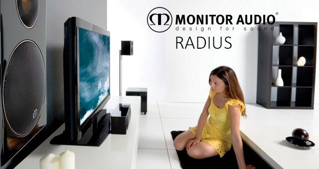 Monitor Audio Radius sustav kućnoga kina