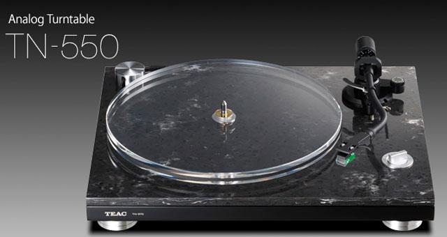 TEAC TN-550/570 gramofoni