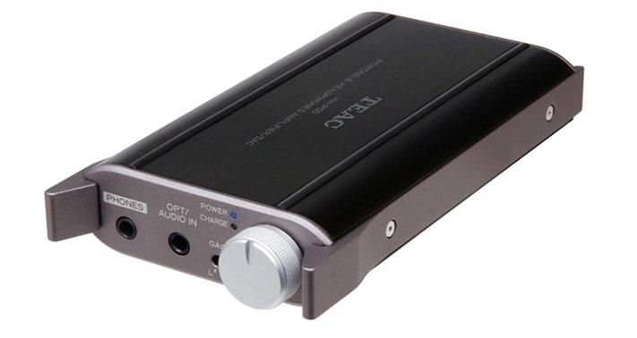 TEAC-ovo HA-P50 prijenosno pojačalo za slušalice s ugrađenim 24/96USB DAC-om za zvuk visoke