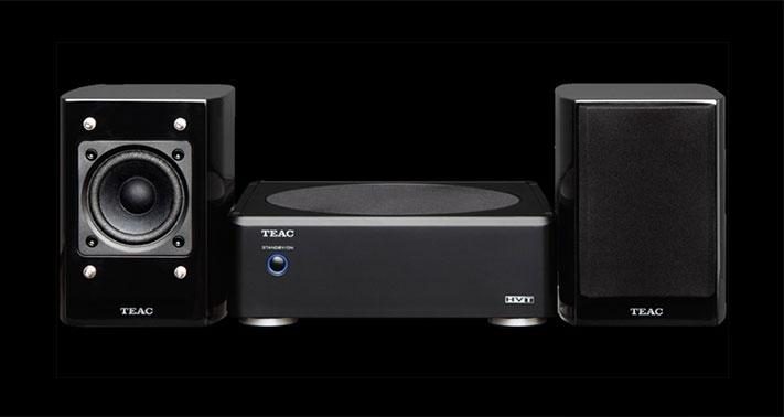 TEAC-ov zvučnički sustav LS-WH01- bas zvuk na radnom stolu