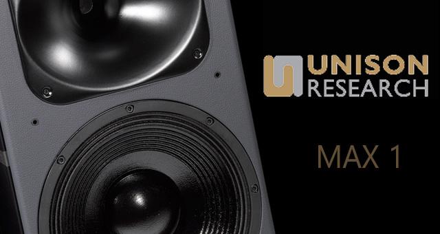 Novo glazbalo iz Unison Research manufakture: zvučne kutije Max 1