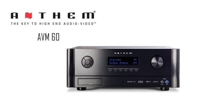 Anthem AVM60 11.2 kanalno pretpojačalo/procesor