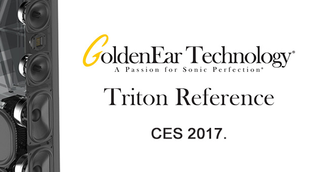 Golden Ear Triton Reference na CES-u 2017.