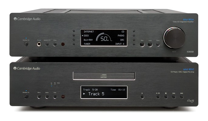 Cambridge Audio Azur 851C i 851A