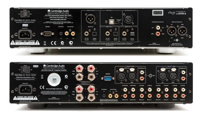 Cambridge Audio Azur 851C i 851A straga