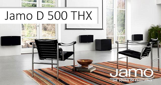 Jamo D 500 THX sustav kućnoga kina