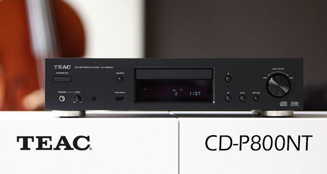 TEAC-ov CD-P800NT višenamjenski mrežni CD-player