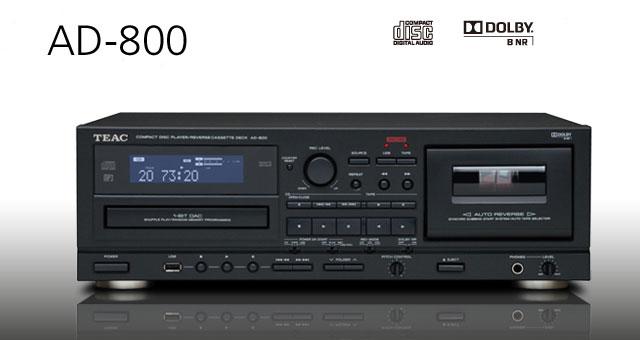 TEAC AD-800 CD, kaseter i USB port – pristupačni kućni studijski uvjeti