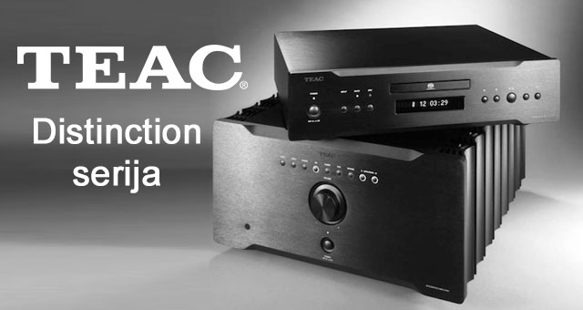 TEAC SACD/CD playeri i integrirana pojačala Distinction serije