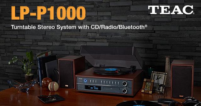TEAC stereosustav s gramofonom i bluetoothom LP-P1000