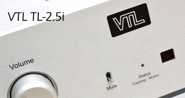VTL cijevno pretpojačalo TL-2.5i