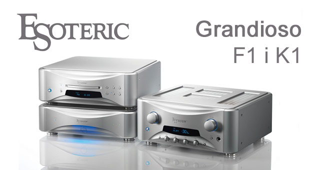 Esoteric Grandioso F1 Integrirano pojačalo i K1 CD reproduktor