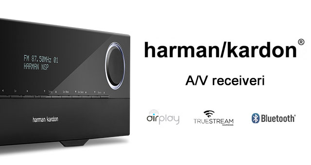 Harman Kardon A/V receiveri