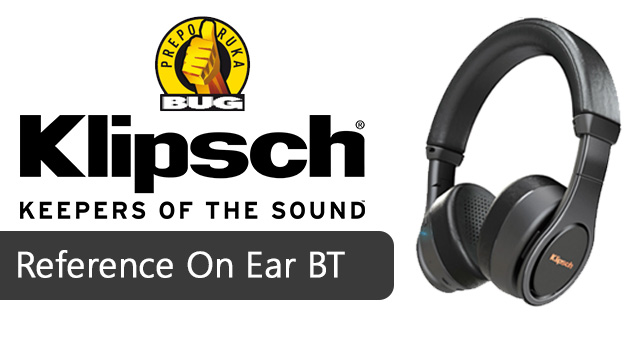 Klipsch Reference On Ear Bluetooth BUG recenzija