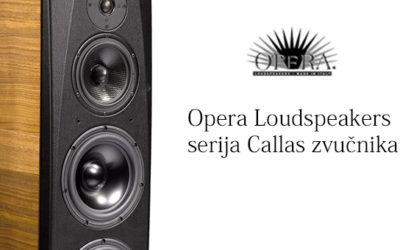 Opera Loudspeakers serija Callas zvučnika