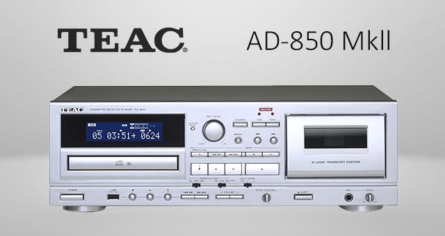 Teac AD-850 Mkll kasetofon/CD reproduktor