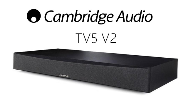Cambridge Audio TV5 (V2) TV speaker base with Bluetooth – recenzija