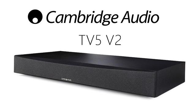 Cambridge Audio TV5 (V2) TV speaker base with Bluetooth – recenzija