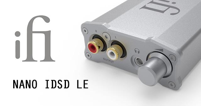 ifi Nano iDSD LE – DAC/pojačalo za slušalice