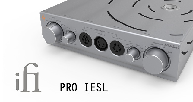ifi Pro iESL – energizer (aktivator) elektrostatskih slušalica