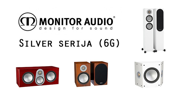 Monitor audio Silver serija (6G)