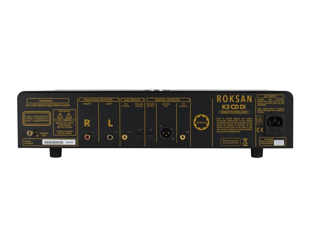 06 Roksan K3 CDDI reproduktor straga