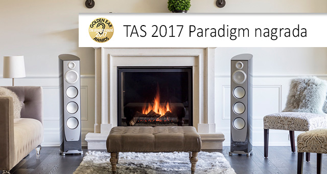 TAS 2017 Golden Ear Award Paradigm Persona 9H
