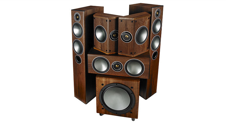 04 Monitor Audio bronze B5 AV komplet