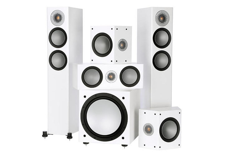 05 Monitor Audio silver 200 AV12 bijeli
