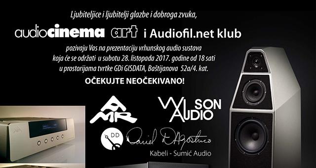 Prezentacija vrhunskog audio sustava