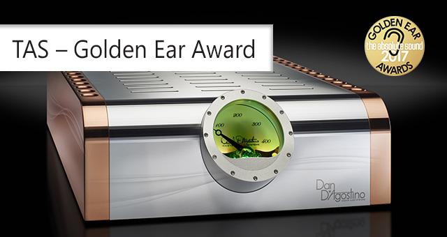 TAS – Golden Ear Award za Dan D'Agostino Momentum M400 mono pojačalo snage