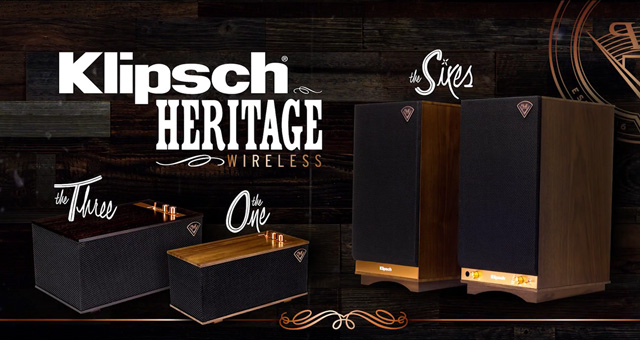 Klipsch Heritage bežični zvučnici One / Three / Sixes