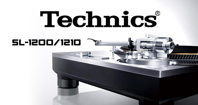 Technics SL-1200/1210 gramofoni s direktnim pogonom