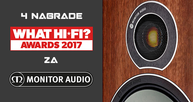 Monitor Audio – What Hi-Fi? nagrade