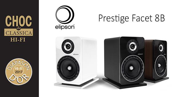 Elipson Prestige Facet 8B – nagrada Diapason D'Or