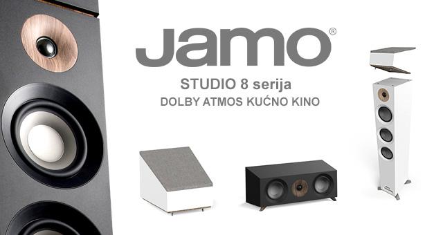 JAMO Studio 8 Series Dolby® Atmos zvučnici za kućno kino