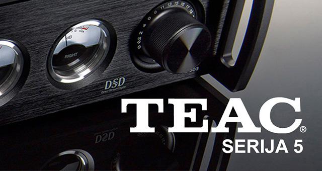 Teac serija 5: AI-503/NT-505/UD-505 i CG-10M masterclock