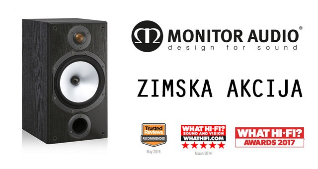 MONITOR AUDIO AKCIJA