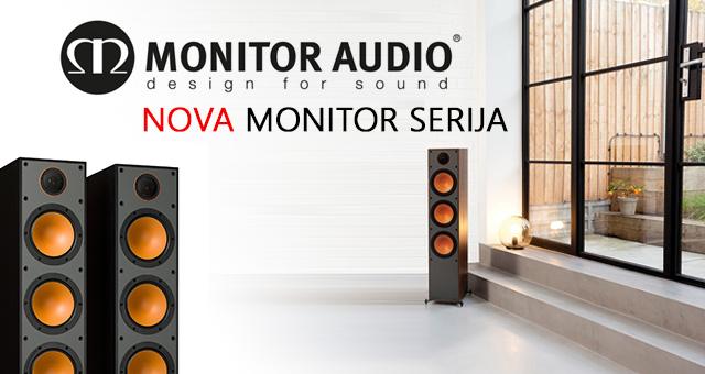 Monitor Audio Monitor serija – Nova kolekcija atraktivnih zvučnika