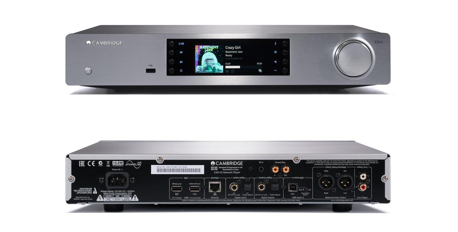 Cambridge Audio CXN V2 Silver